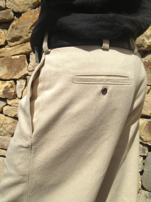 Pánské konopné kalhoty