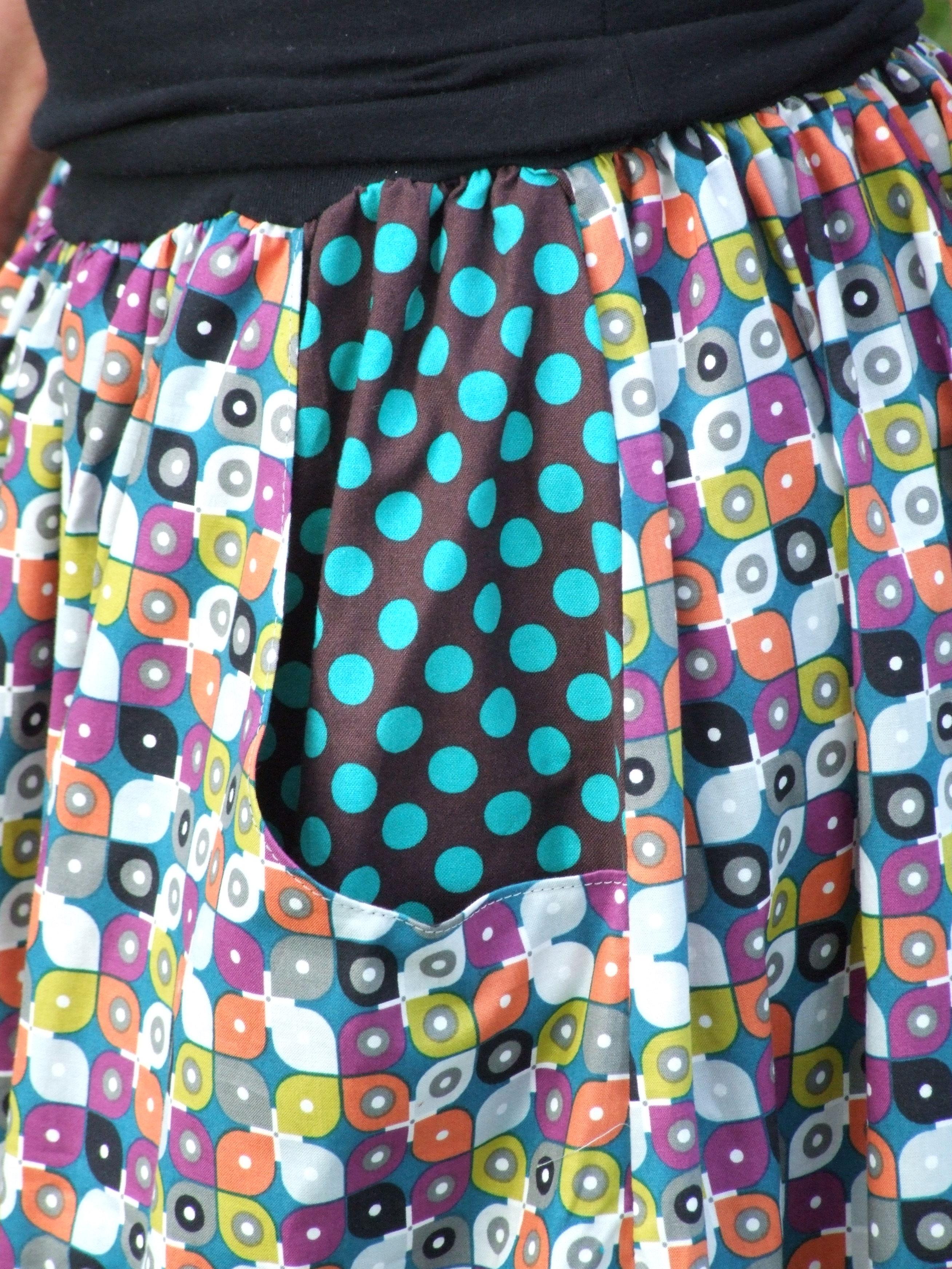 560a519ded8 Biobavlněná dlouhá sukně barevná | Canafé – autorská móda, oděvy z ...