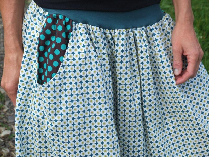 Dámská sukně z biobavlny
